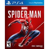 Spider-man Juego Ps4 Original + Español + Garantía