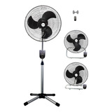 Ventilador Con Control Remoto 3en1 Metalico Timer Eclipse