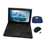 Mini Notebook Dell Dual Core Wifi + Bolso Mouse Inalambrico