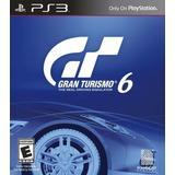 Gran Turismo 6 Juego Ps3 Original Gt6 Playstation 3 Español