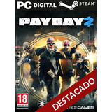 Payday 2 Pc + Online Steam Original