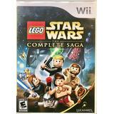 Lego Star Wars La Saga Completa Nintendo Wii Envíos Ya !