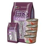 Frost Cat Indoor 7.5kg + 1kg Gratis + 4 Pate + 6 Pagos