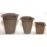 Macetas / Almacigueras Biodegradables - Ecologicas (pequeña)