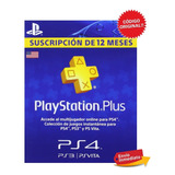 Tarjeta Playstation Plus Psn 1 Año 12 Meses Envío Inmediato