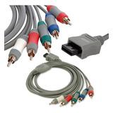 Cable De Imagen Video Hd Componente Nintendo Wii