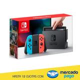 Nintendo Switch Neon Stock Disponible 220v Xuy