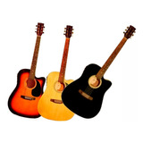 Guitarra Eléctro Acústica Memphis 964 Acero