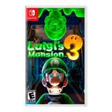Luigi´s Mansion 3 Nintendo Switch Nuevo Sellado  Easybuy
