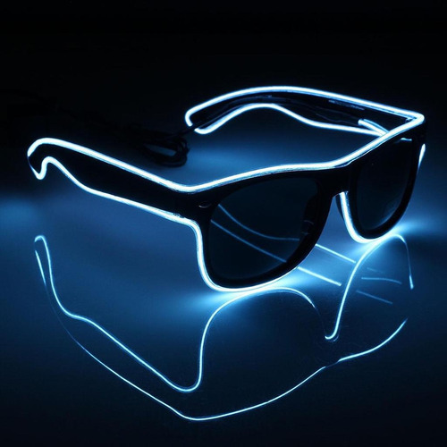 f4fb2536c7 Lentes Con Luces Led Neon Fiestas De Electronica Rave