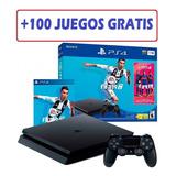 Play 4 Slim 1 Tera Nuevos + Fifa 19 + Garantia