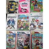 Juegos Para Wii Zelda, Mario Paper, Mario Party 9, Smash