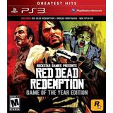 Red Dead Redemption Ps3 Original Digital