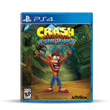Crash Bandicoot: N. Sane Trilogy  Ps4, Físico, Macrotec