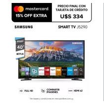 Smart Tv Led Samsung 40 Full Hd Gtia - Black Dog