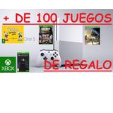 Xbox One S Modelo Slim 4k Hdr 107 Juegos Originales Regal