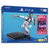 Playstation 4 Slim 1tb + Fifa 19, Macrotec