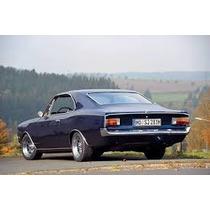 Acrilico De Farol Trasero De Opel Record 1700, Año 68/72