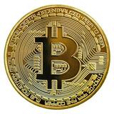 Moneda Física Coleccionable De Bitcoin (envío Gratis)