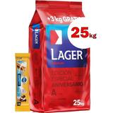 Alimento Lager Perro Adulto 24kg + Protector Dental + Envío