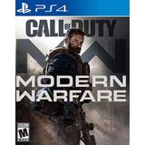 Call Of Duty Modern Warfare Play 4 Ps4 Original + Garantía