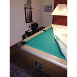 Billar Mesa De Pool Medida Interna 2x1m