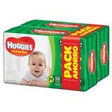 Pañales Huggies Active Sec M 104u - Bebés Y Niños