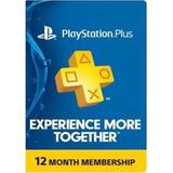Playstation Plus 1 Año Psn Plus 365 Suscripción Plus Usa  +