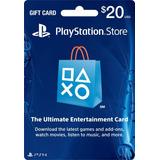 Playstation Network 20 Usd Psn Card Región Usa Ps4 / Ps3
