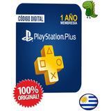 Playstation Plus 12 Meses Para España O Usa Código Online