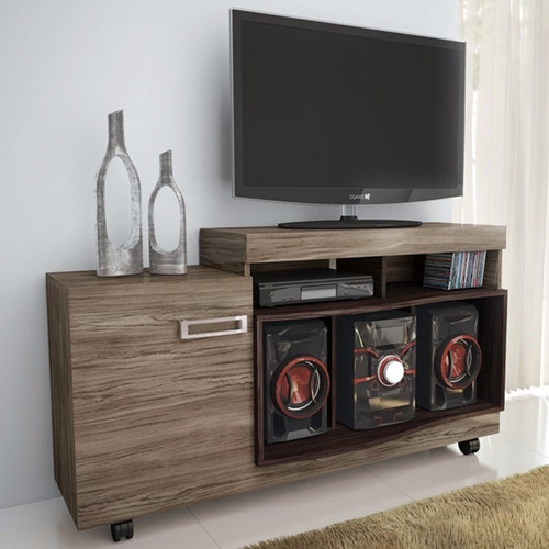 Mueble rack mesatv lcd mueble comedor living modular 2490 for Mueble rack