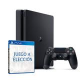 Playstation 4 Slim De 500 Gb Mas Juego A Elección Xuruguay