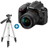 Nikon D3400 + Tripode + Factura Para La Garantia 1 Año