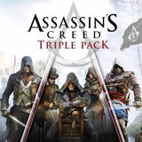 Assassins Creed Triple Pack Black Flag Unity Syndicate Ps4
