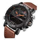 Reloj Naviforce Alarma Cronometro Colores