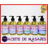 Aceite Para Masajes 1 Litro  Varios Aromas Lleve 4 Pague 3