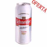Cerveza Schneider Lata 473 Cc !!! Al Mejor Precio