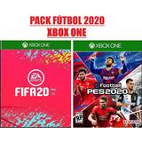Fifa 20 Xbox One Y Pes 20 Xbox One Entrega Inmediata