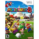 Mario Party 8 Juego En Caja Original Nintendo Wii Día Niño