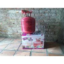 Garrafa De Helio +globos+cinta Hecha En Usa Super Oferton!!!