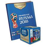 Caja De Figuritas Copa Mundial De La Fifa + Album + Envio