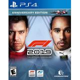 F1 2019 Anniversary Edition Juego Ps4 Original Play 4