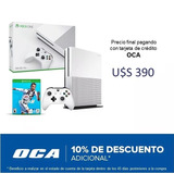 Xbox One S 500gb Ref + Fifa 19, Macrotec