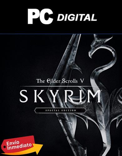 Skyrim Special Edition Pc Español + Expansiones / Digital
