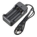 Cargador Litio Doble Batería Pila 3.7v 4.2v Electroimporta