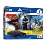 Consola Playstation 4 500gb Slim Negra Mfshop
