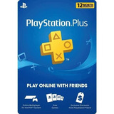 Ps Plus Play Station Plus 1 Año Código Usa Volvio La Promo!!