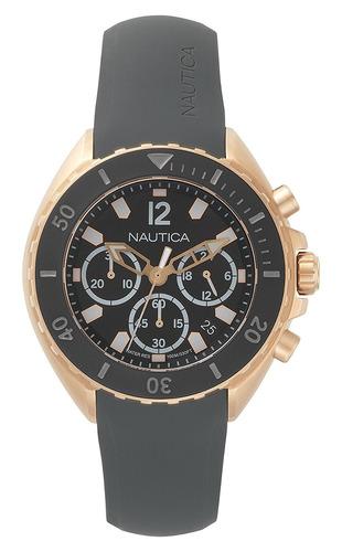 77d5f24426ce Reloj Nautica Men s  new Port  Quartz Stainless Steel