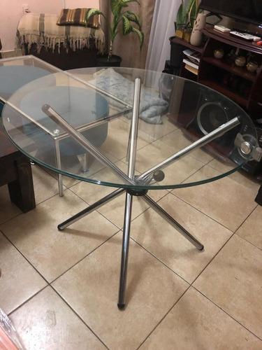 Mesa Redonda Para Living Comedor Vidrio en venta en La ...