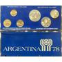 *jfa* Set Argentina 78 Año 1977 Completo